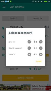 Air Tickets screenshot 2