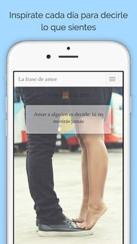 Frases de amor apk screenshot