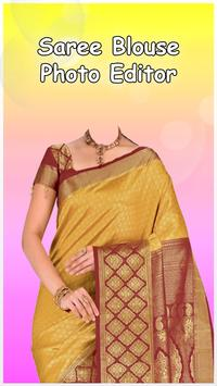 Saree Blouse Photo Editor poster