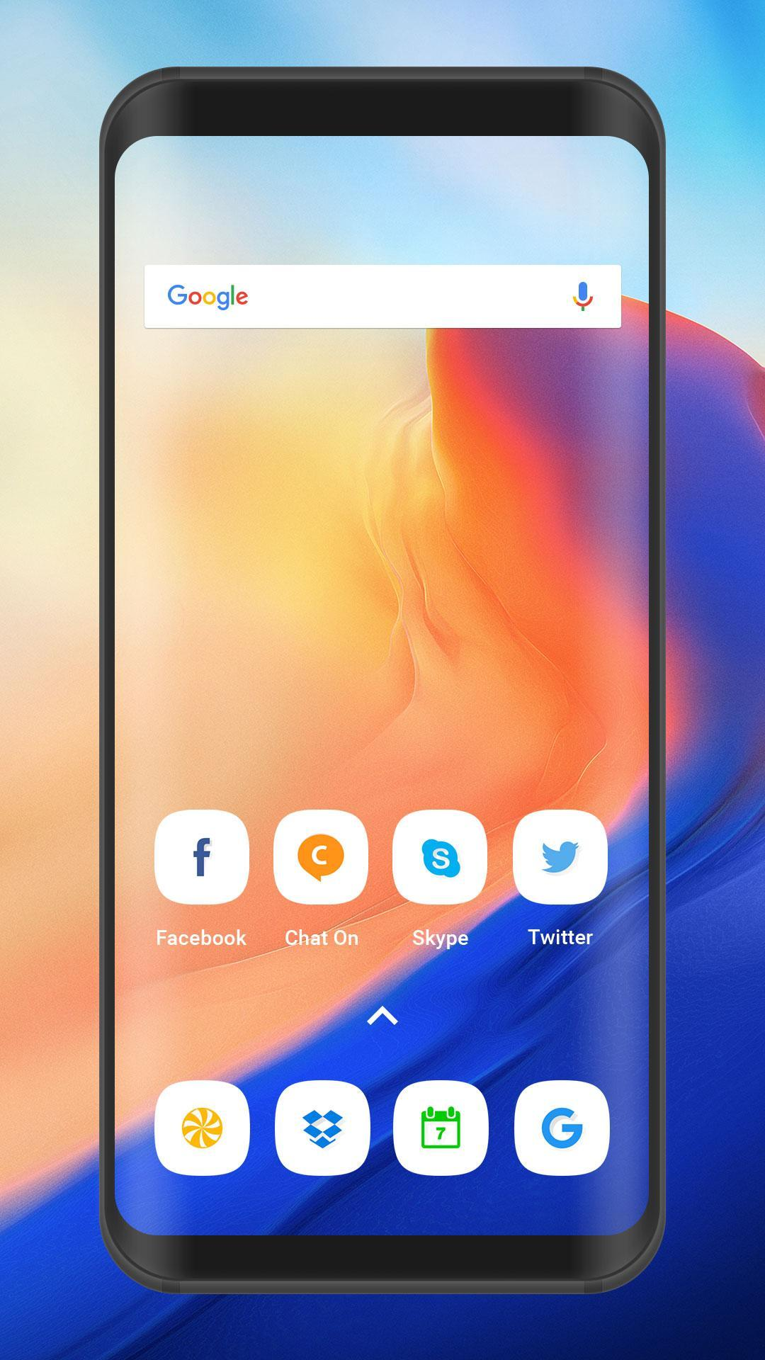 Oneplus 6 launcher and theme : free Icon Pack for Android