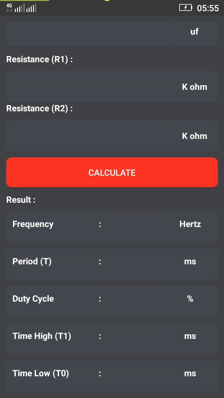 555 Timer Calculator for Android - APK Download