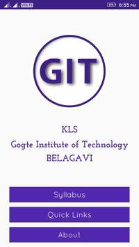 GIT Syllabus poster