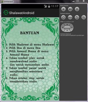Shalawat Android screenshot 1