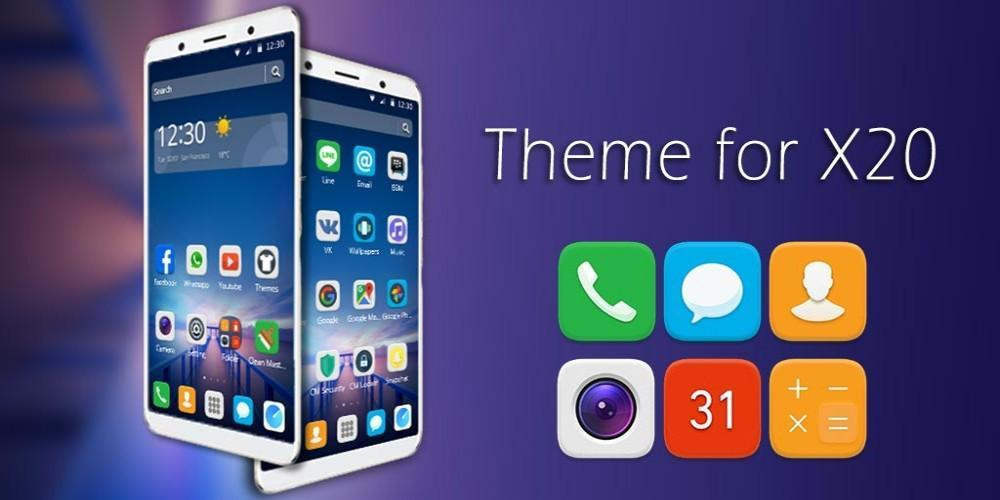 FREE Azure Theme for Vivo X20 for Android - APK Download
