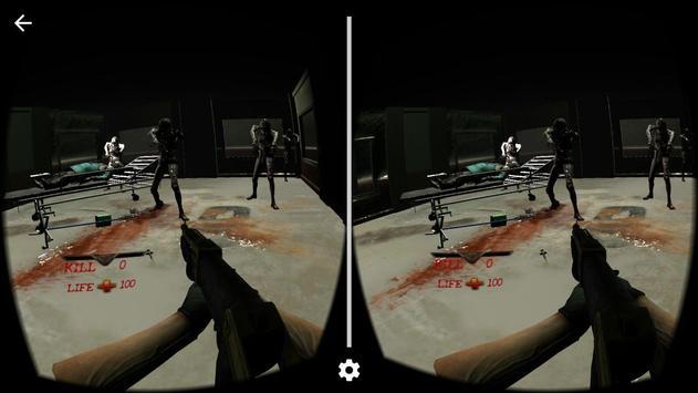 Kill 100 Zombies VR screenshot 1