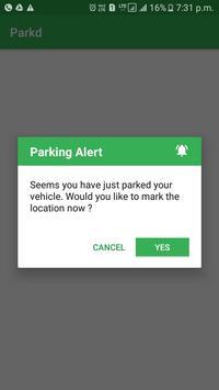 Just Parkd - Parking App apk screenshot