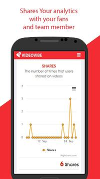 VideoVibe Youtube Analytics apk screenshot