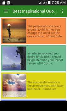 Best Inspirational Quotes poster