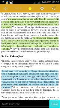 Fijian Bible apk screenshot