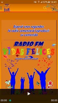 FM VIDAS FELICES poster