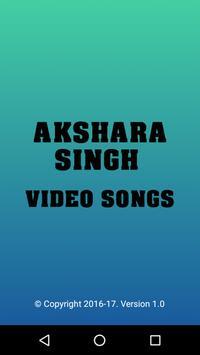 Video Songs of Akshara Singh apk screenshot