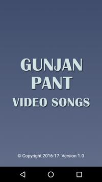 Video Songs of Gunjan Pant poster