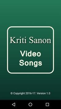 Video Songs of Kriti Sanon poster