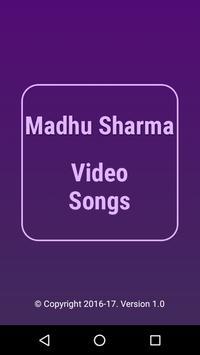 Video Songs of Madhu Sharma poster