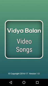 Video Songs of Vidya Balan poster