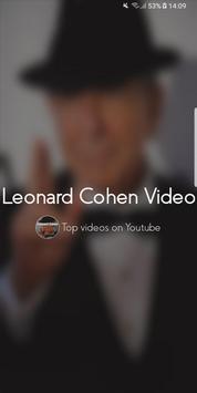 Leonard Cohen Video poster