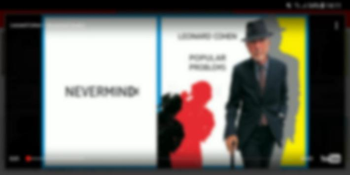 Leonard Cohen Video screenshot 4