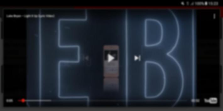 Luke Bryan Video apk screenshot