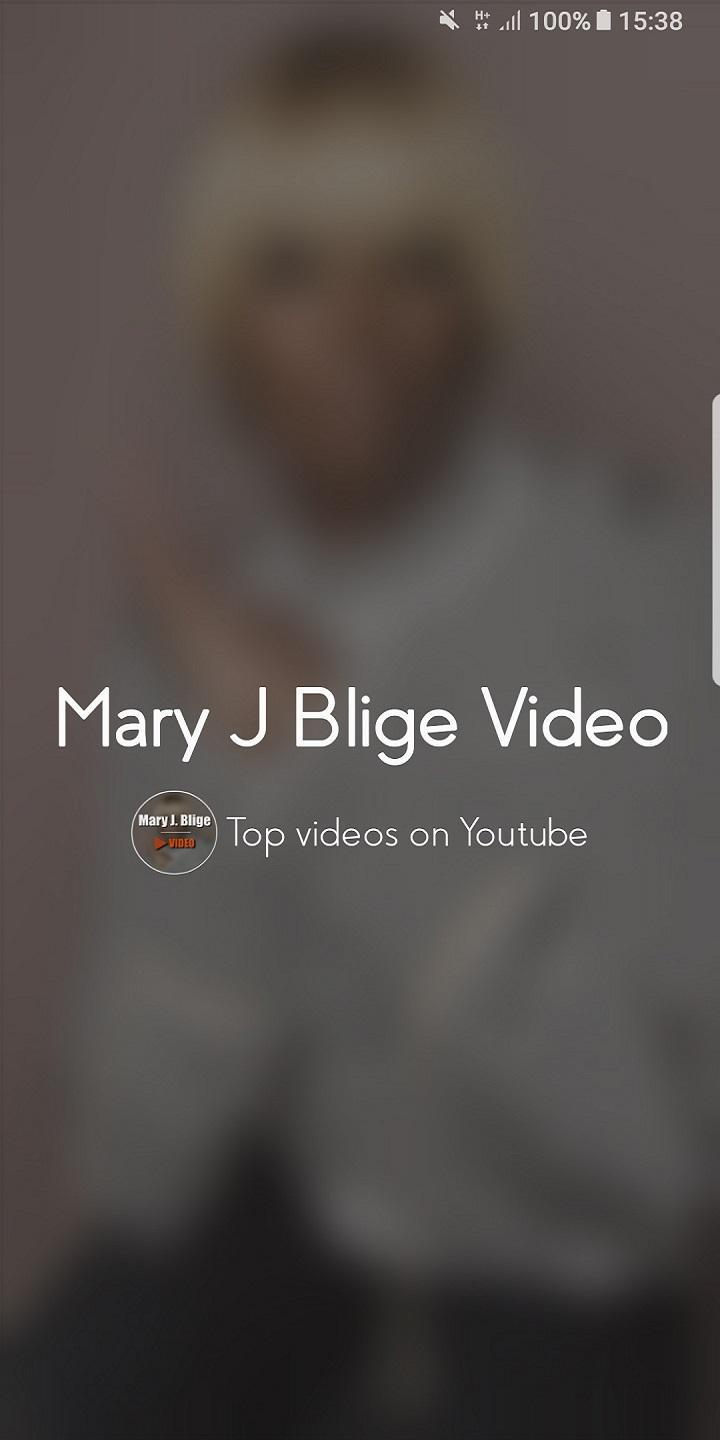 Mary J Blige Video For Android Apk Download