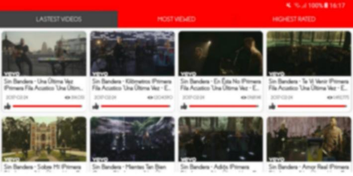 Sin Bandera Video apk screenshot