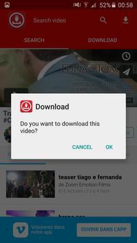 HD FREE Video Downloader 2017 apk screenshot