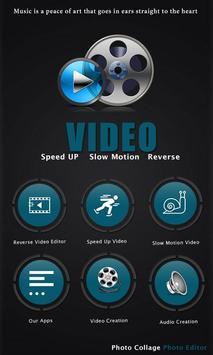 Reverse Video FX video Editor poster