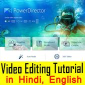 Video Editing Tutorials in Hindi icon