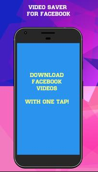 Save Video From Facebook poster