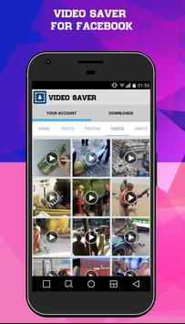 Save Video From Facebook apk screenshot