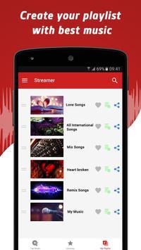 Music Streamer for Youtube apk screenshot