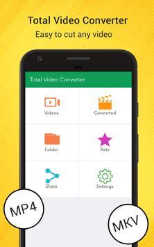Total Video Converter screenshot 1