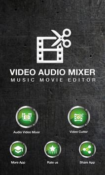 Smart Video Cutter & Song Mixer poster