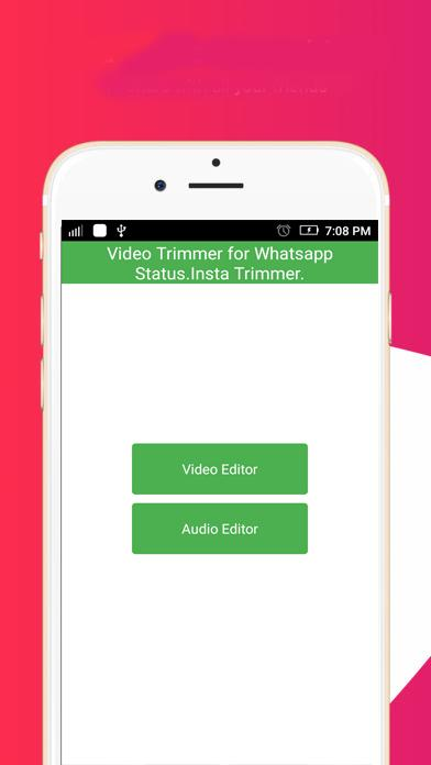 Video Trimmer Para Whatsapp Statusinsta Trimmer For Android