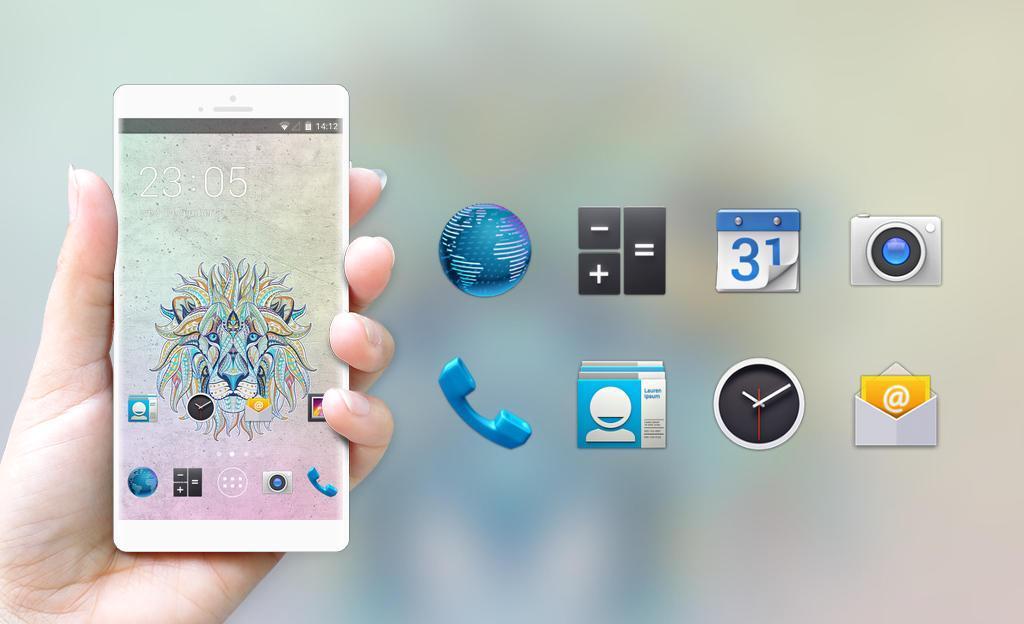 Lion Theme For Videocon Delite 11 Wallpaper Hd Fur Android