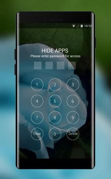 Theme for Videocon V1411 Blue rose Wallpaper screenshot 2