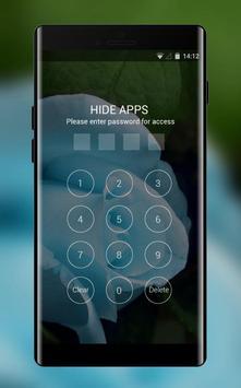 Theme for Videocon V1411 Blue rose Wallpaper apk screenshot