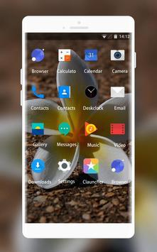 Theme for Videocon V1311 Flower Wallpaper screenshot 1