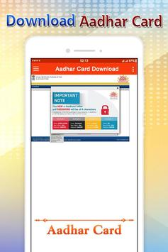 Download Aadhar Card - Guide screenshot 1