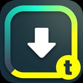 Tumblr下载器 - 汤不热下载神器,Tumblr视频/图片/动图极速下载,高清内容离线观看 图标