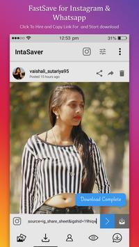FastSave for Instagram & Whatsapp screenshot 3