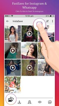 FastSave for Instagram & Whatsapp poster