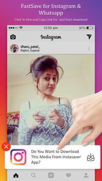 FastSave for Instagram & Whatsapp screenshot 2