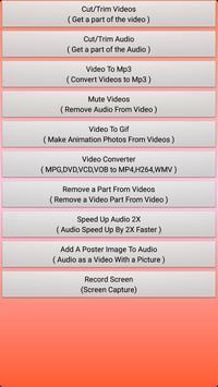 Video Editor Trimmer Classic apk screenshot