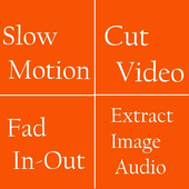 Slow and Fast motion Video Editor, Cutter, Editor icon