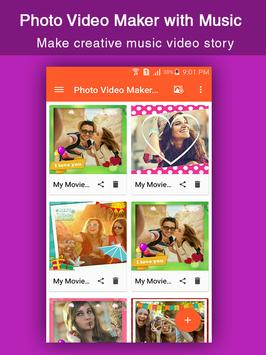 Photo Video Maker with Music#2 poster