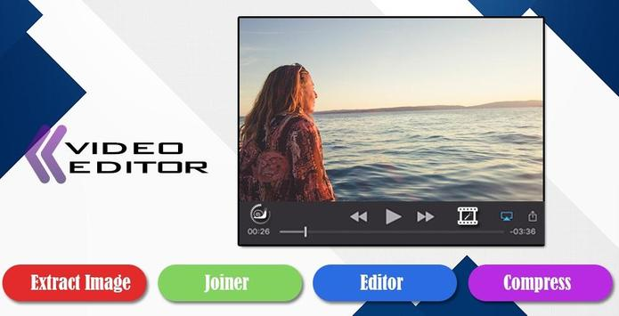 Video cutter,Joiner,Editor poster
