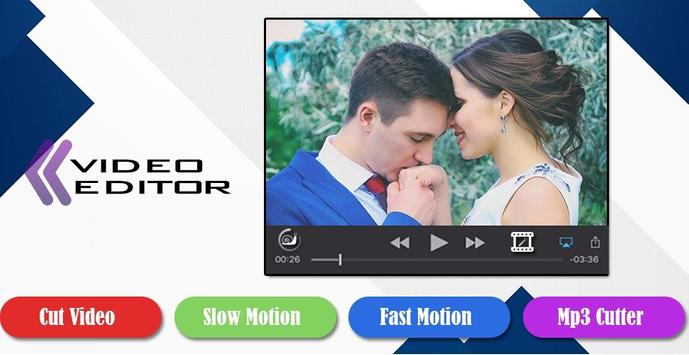 Fast video maker poster