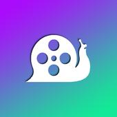 Slow movie maker icon
