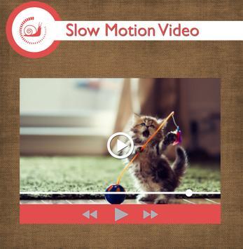 Slow movie maker apk screenshot
