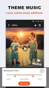 Quick Video Editor for Clips, Photos, Music Album apk screenshot